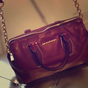 MK burgundy bag. Very clean